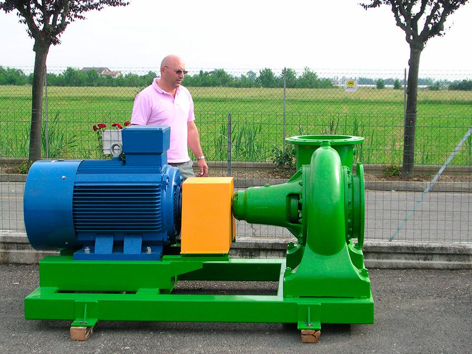 Riparazione assistenza e vendita pompe sommerse for Preventivo impianto irrigazione