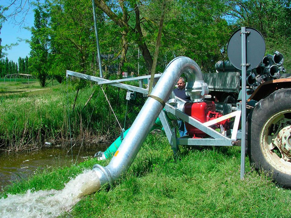 Assistenza riparazione e vendita motofrizioni e pompe per for Materiale irrigazione